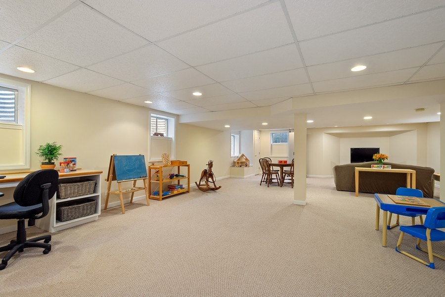 Real Estate Photography - 664 Oak Rd, Barrington, IL, 60010 - Recreation & Game Rooms