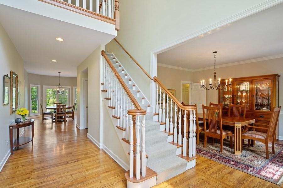 Real Estate Photography - 664 Oak Rd, Barrington, IL, 60010 - Foyer