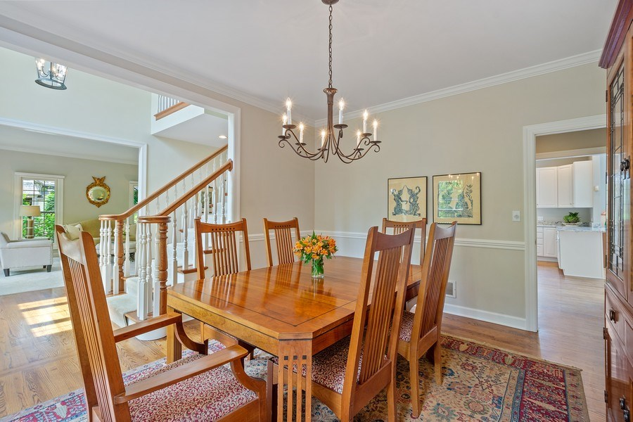 Real Estate Photography - 664 Oak Rd, Barrington, IL, 60010 - Dining Room