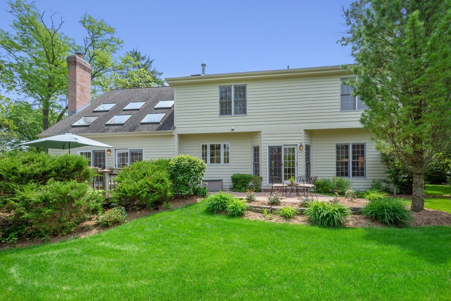Real Estate Photography - 664 Oak Rd, Barrington, IL, 60010 - Rear View