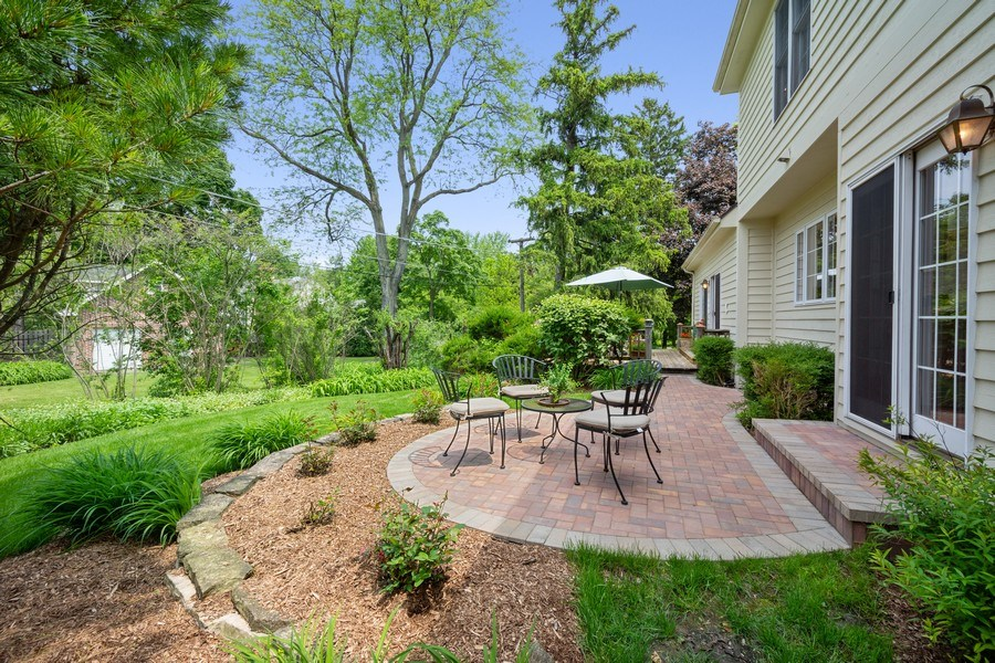 Real Estate Photography - 664 Oak Rd, Barrington, IL, 60010 - Patio