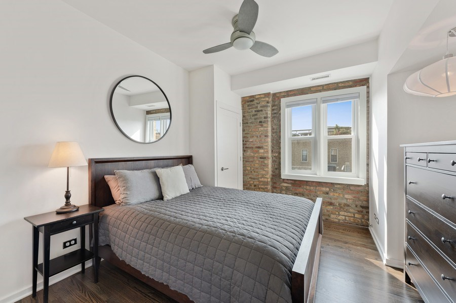 Real Estate Photography - 1406 N. Paulina St., Chicago, IL, 60622 - 2nd Bedroom