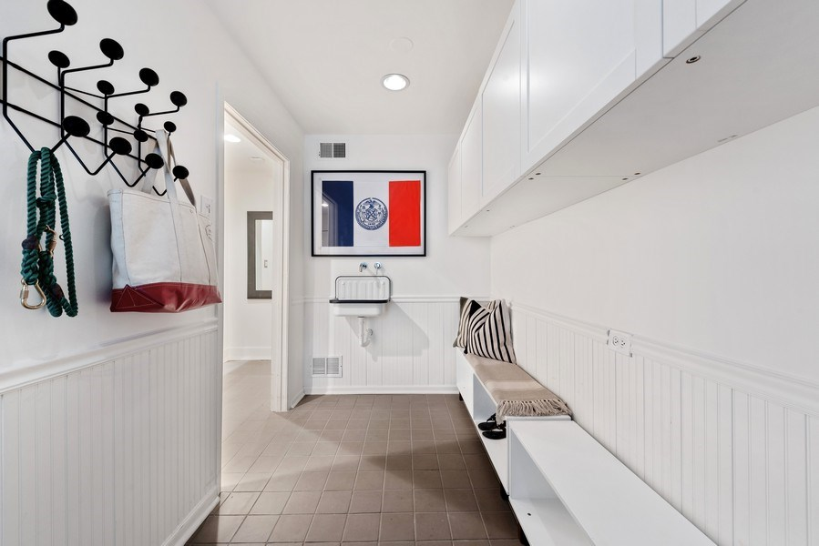Real Estate Photography - 1406 N. Paulina St., Chicago, IL, 60622 - Mudroom