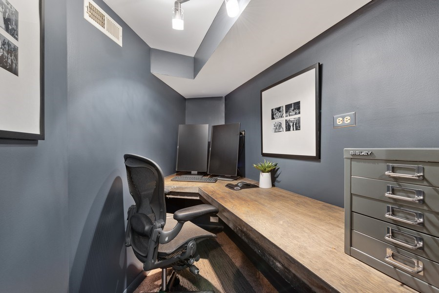 Real Estate Photography - 1406 N. Paulina St., Chicago, IL, 60622 - Office