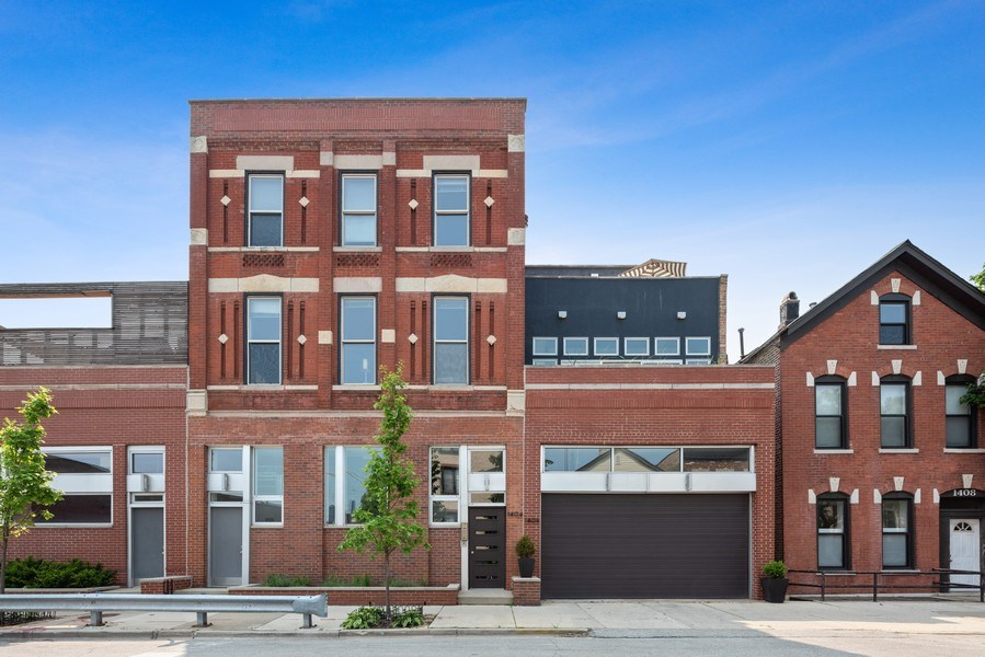 Real Estate Photography - 1406 N. Paulina St., Chicago, IL, 60622 - Front View