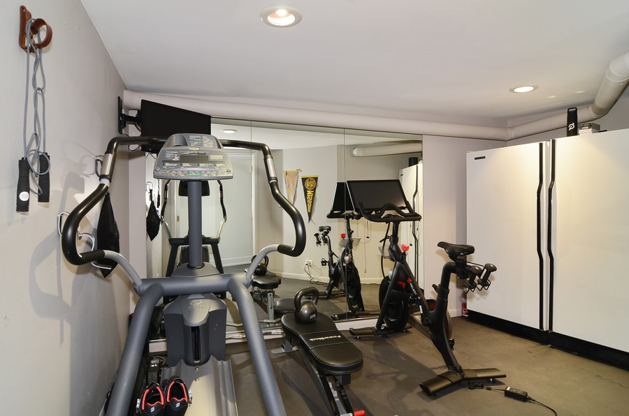 Real Estate Photography - 1406 N. Paulina St., Chicago, IL, 60622 - Exercise Room