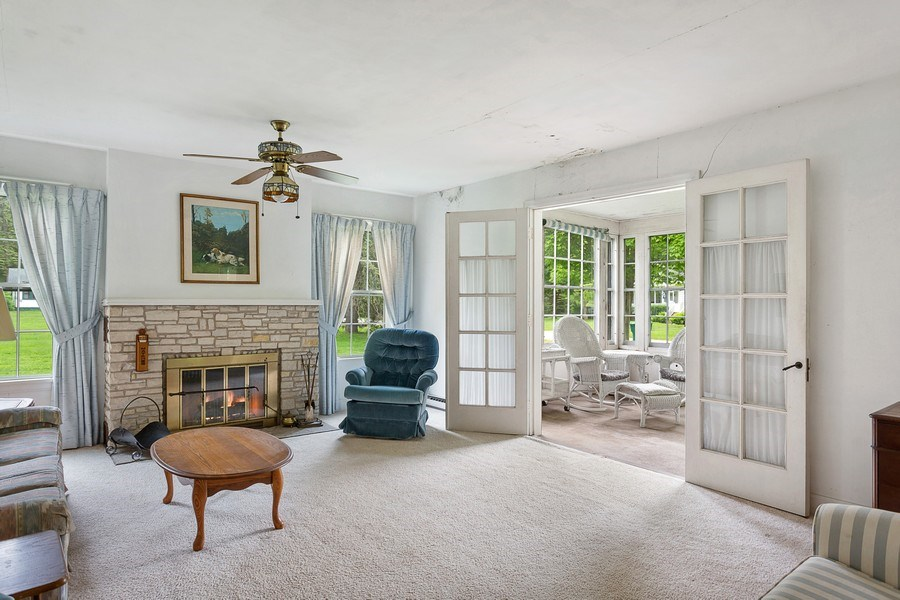 Real Estate Photography - 8795 Turner Rd, Lakeside, MI, 49116 - Living Room