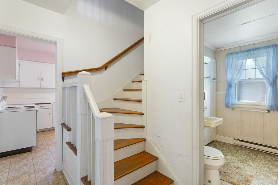 Real Estate Photography - 8795 Turner Rd, Lakeside, MI, 49116 - Staircase