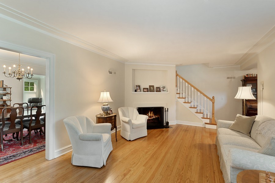 Real Estate Photography - 527 E. Mayfair Rd., Arlington Heights, IL, 60005 - Living Room