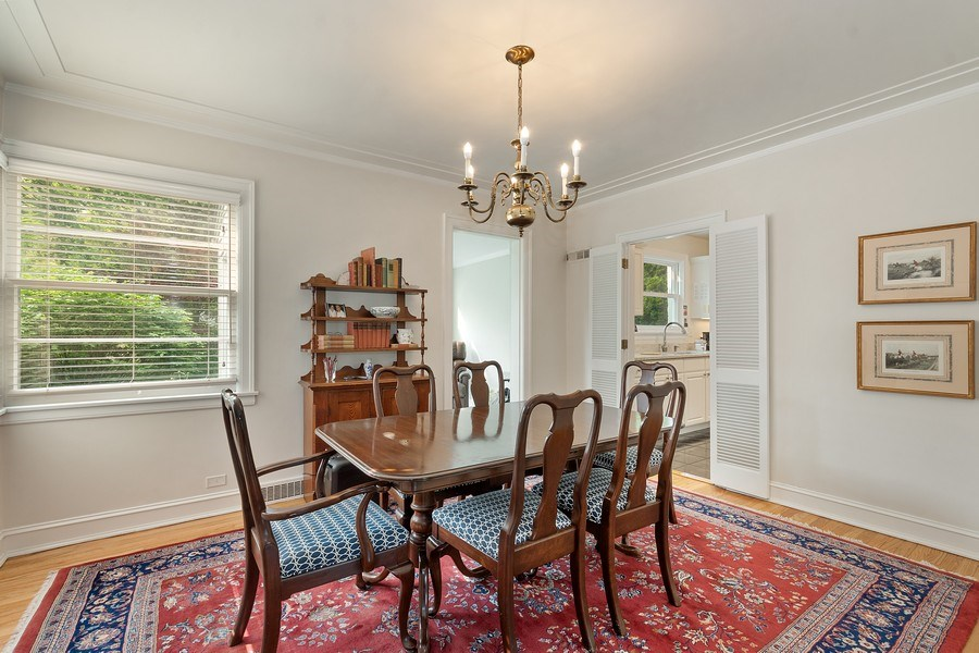 Real Estate Photography - 527 E. Mayfair Rd., Arlington Heights, IL, 60005 - Dining Room