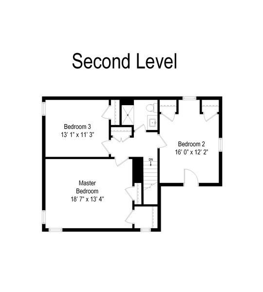 Real Estate Photography - 527 E. Mayfair Rd., Arlington Heights, IL, 60005 - Floor Plan