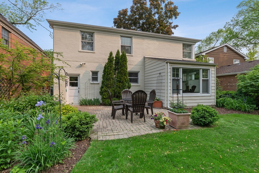 Real Estate Photography - 527 E. Mayfair Rd., Arlington Heights, IL, 60005 - Rear View