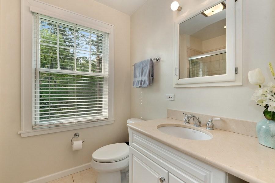 Real Estate Photography - 527 E. Mayfair Rd., Arlington Heights, IL, 60005 - 2nd Bathroom
