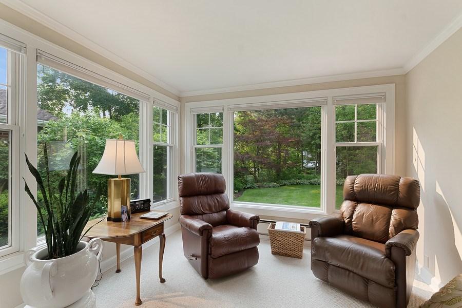 Real Estate Photography - 527 E. Mayfair Rd., Arlington Heights, IL, 60005 - Sun Room