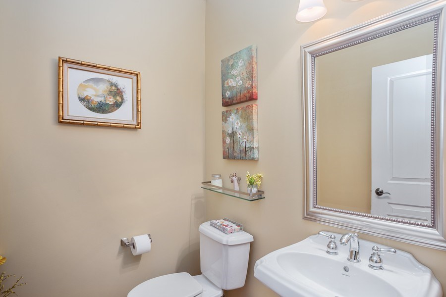 Real Estate Photography - 151 Wing Street, #603, Arlington Hts., IL, 60005 - Powder Room