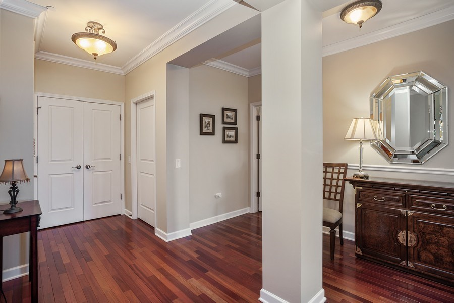 Real Estate Photography - 151 Wing Street, #603, Arlington Hts., IL, 60005 - Foyer