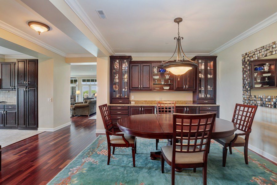 Real Estate Photography - 151 Wing Street, #603, Arlington Hts., IL, 60005 - Dining Room