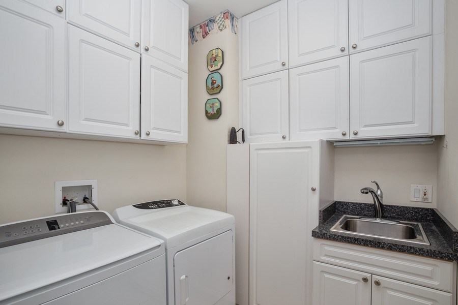 Real Estate Photography - 151 Wing Street, #603, Arlington Hts., IL, 60005 - Laundry Room