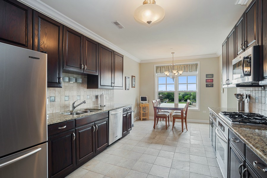 Real Estate Photography - 151 Wing Street, #603, Arlington Hts., IL, 60005 - Kitchen
