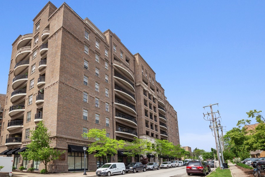 Real Estate Photography - 151 Wing Street, #603, Arlington Hts., IL, 60005 - Front View