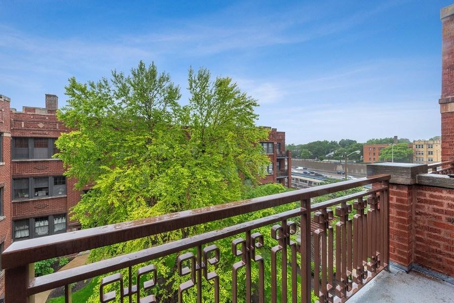 Real Estate Photography - 633 Garfield St, Oak Park, IL, 60304 - Balcony