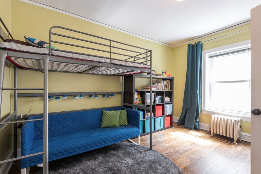 Real Estate Photography - 803 Elmwood, #1N, Evanston, IL, 60202 - 2nd Bedroom