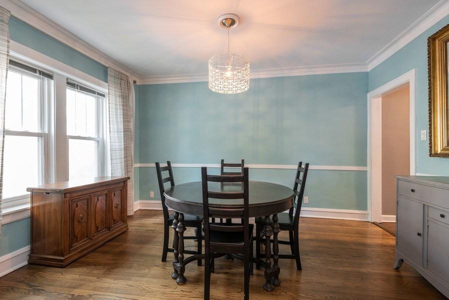 Real Estate Photography - 803 Elmwood, #1N, Evanston, IL, 60202 - Dining Room