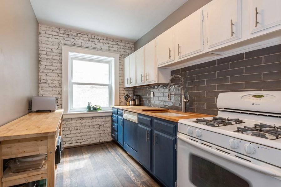 Real Estate Photography - 803 Elmwood, #1N, Evanston, IL, 60202 - Kitchen