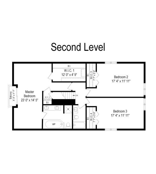 Real Estate Photography - 980 Oak Spring Ln, Libertyville, IL, 60048 - Floor Plan