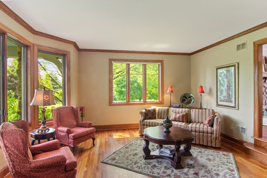 Real Estate Photography - 145 Cloverhill Lane, North Barrington, IL, 60010 - Living Room