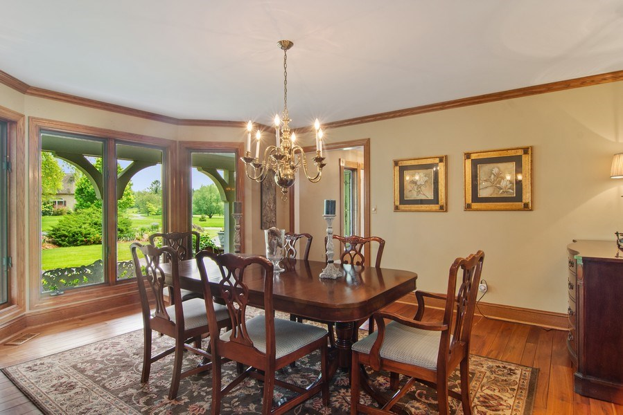 Real Estate Photography - 145 Cloverhill Lane, North Barrington, IL, 60010 - Dining Area