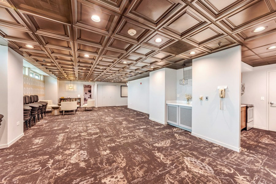 Real Estate Photography - 77 S Evergreen Ave, #1201, Arlington Heights, IL, 60005 - Entertainment Room