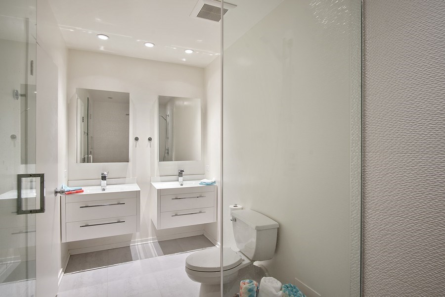 Real Estate Photography - 375 W Erie #524, Chicago, IL, 60657 - Master Bathroom