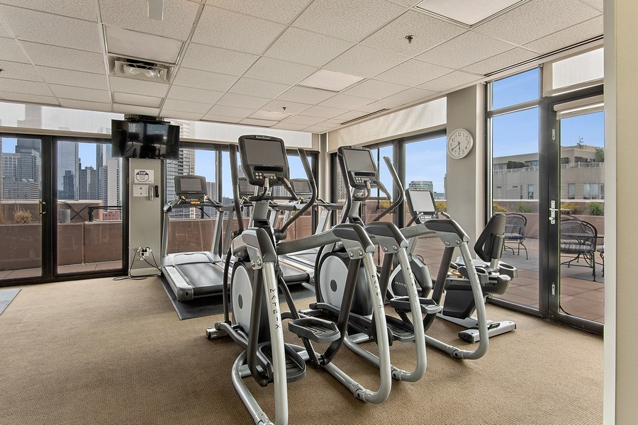 Real Estate Photography - 375 W Erie #524, Chicago, IL, 60657 - Gym