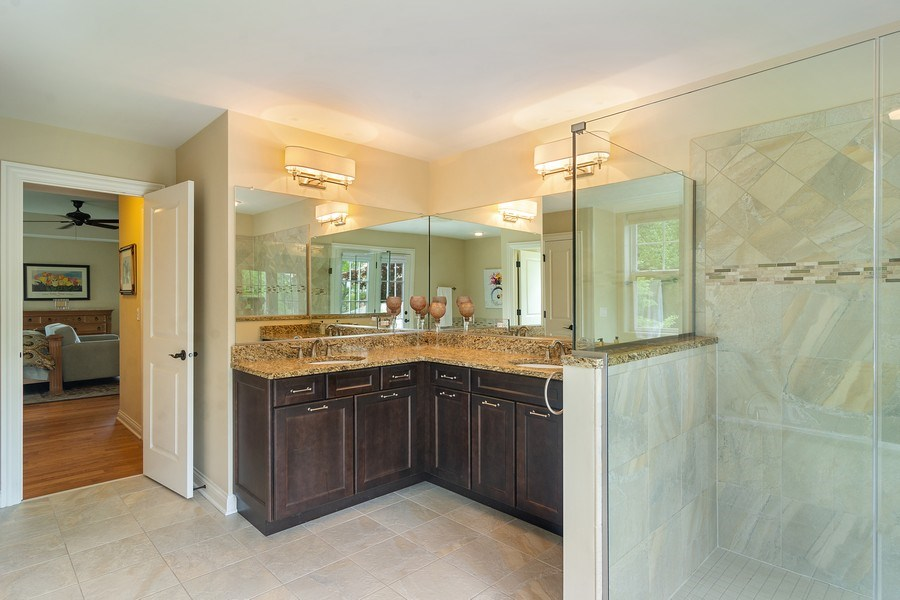 Real Estate Photography - 15 E Willow, Arlington Heights, IL, 60004 - Master Bathroom