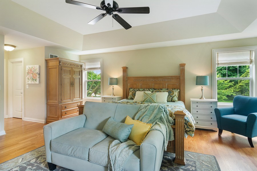 Real Estate Photography - 15 E Willow, Arlington Heights, IL, 60004 - Master Bedroom
