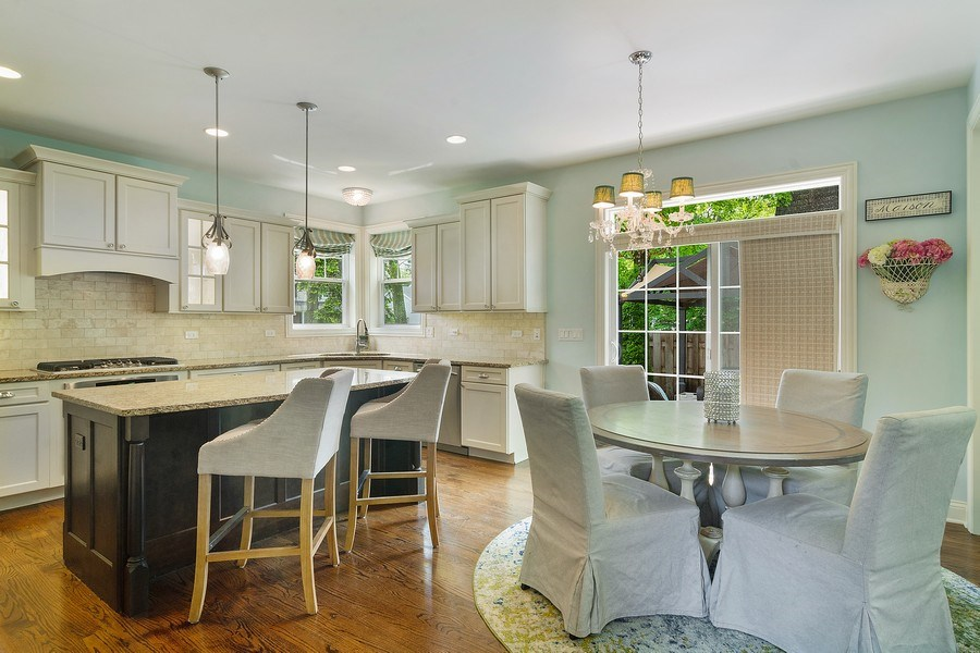 Real Estate Photography - 15 E Willow, Arlington Heights, IL, 60004 - Kitchen / Breakfast Room