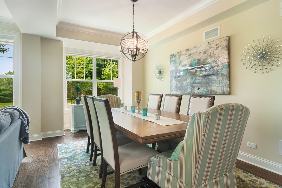 Real Estate Photography - 15 E Willow, Arlington Heights, IL, 60004 - Dining Room