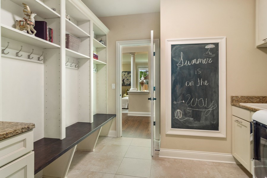 Real Estate Photography - 15 E Willow, Arlington Heights, IL, 60004 - 1st Floor Laundry/Mudroom