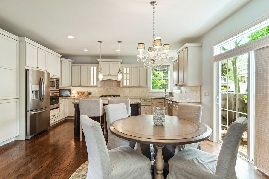 Real Estate Photography - 15 E Willow, Arlington Heights, IL, 60004 - Breakfast Nook