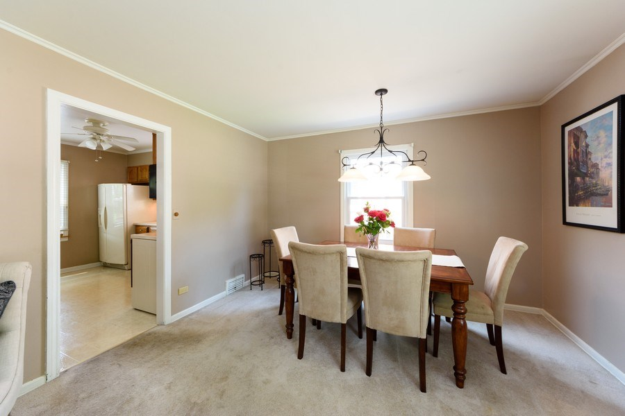 Real Estate Photography - 824 N Yale Ave, Arlington Heights, IL, 60004 - Dining Room