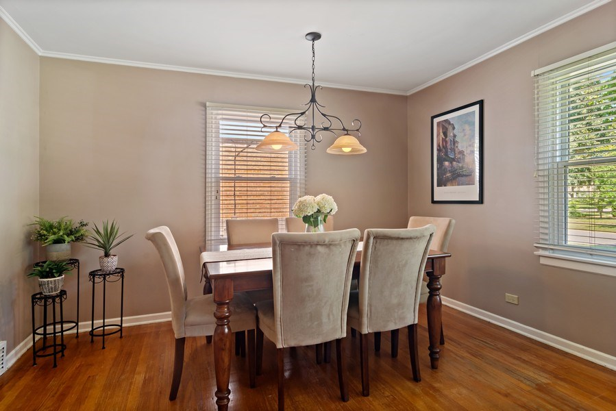 Real Estate Photography - 824 N Yale Ave, Arlington Heights, IL, 60004 - Dining Area