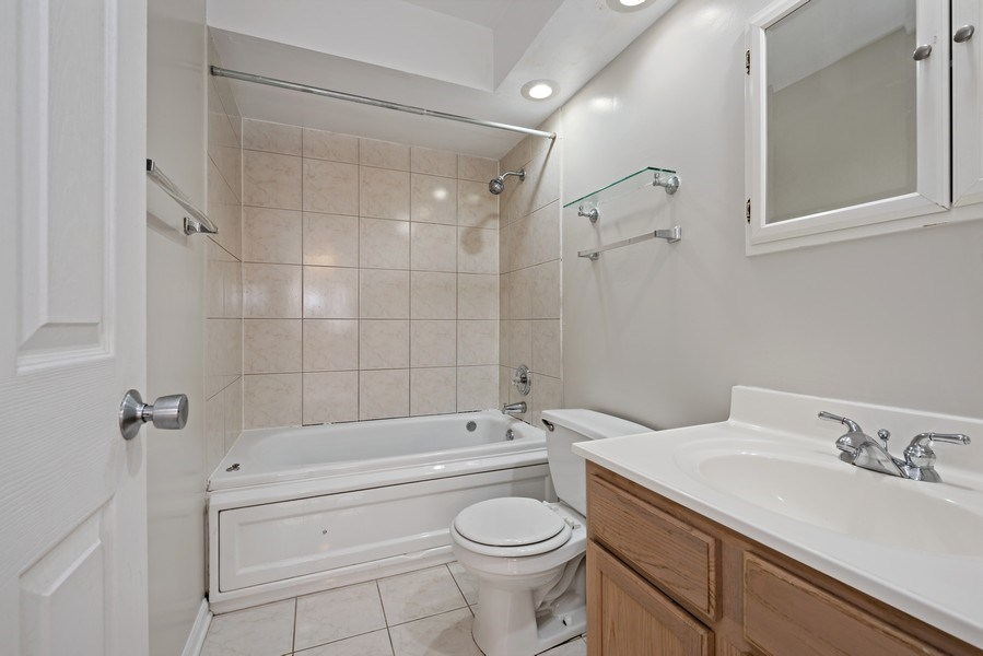 Real Estate Photography - 1930 W. Estes, #302, Chicago, IL, 60626 - Master Bathroom
