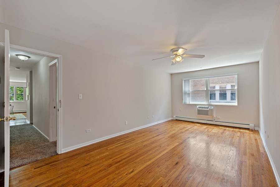 Real Estate Photography - 1930 W. Estes, #302, Chicago, IL, 60626 - Master Bedroom