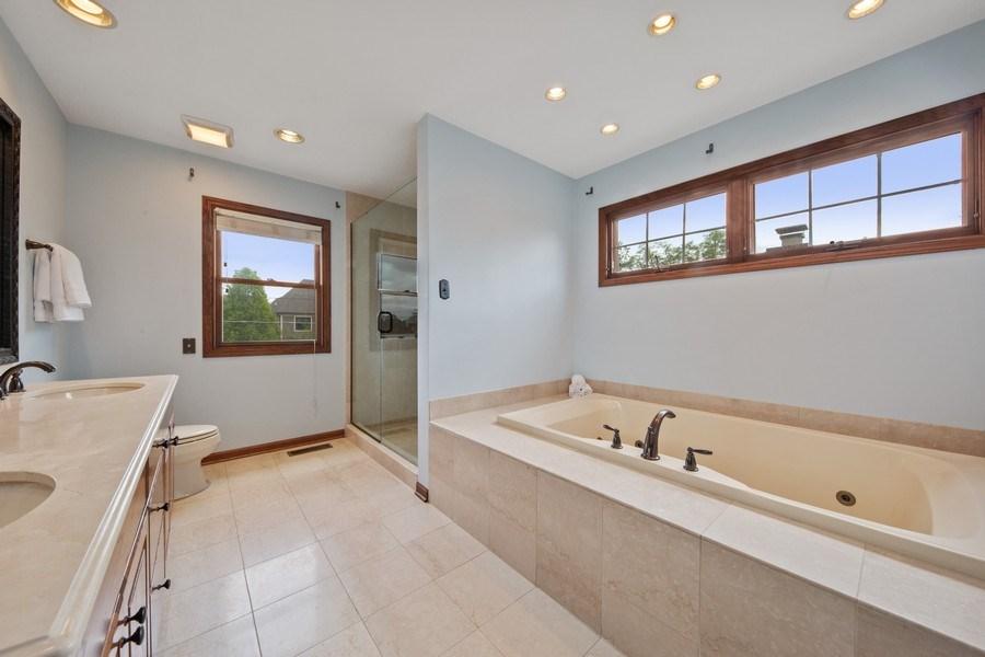 Real Estate Photography - 785 S Fairfield, Elmhurst, IL, 60126 - Master Bathroom