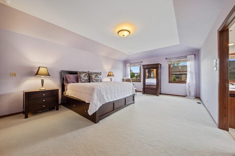 Real Estate Photography - 785 S Fairfield, Elmhurst, IL, 60126 - Master Bedroom
