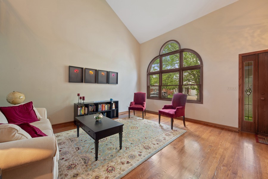 Real Estate Photography - 785 S Fairfield, Elmhurst, IL, 60126 - Living Room