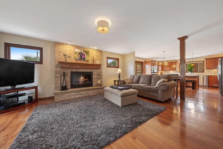 Real Estate Photography - 785 S Fairfield, Elmhurst, IL, 60126 - Family Room