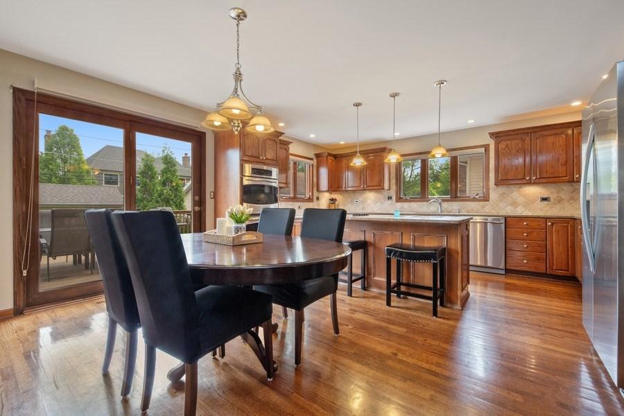 Real Estate Photography - 785 S Fairfield, Elmhurst, IL, 60126 - Breakfast Area