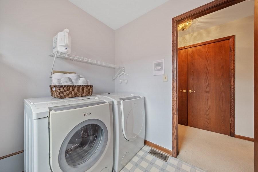 Real Estate Photography - 785 S Fairfield, Elmhurst, IL, 60126 - Laundry Room
